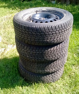 235/55R18 TOYO G-02 OPEN COUNTRY on RIMS
