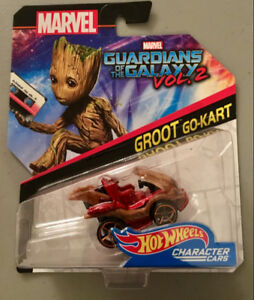 Hot Wheels Character Cars: Groot Go-Kart