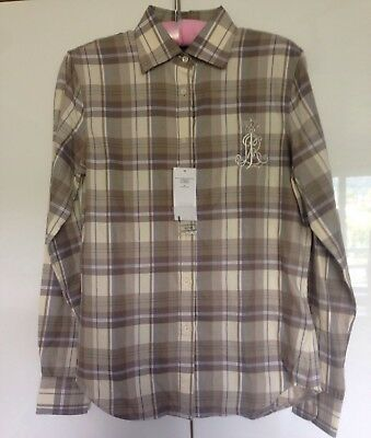 Ralph Lauren checked shirt Cotton Size S RRP £150