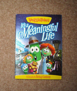 """NEW (Sealed) VeggieTales """"It's a Meaningful Life"""" DVD"""