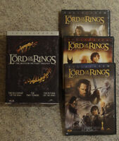 Lord of the Rings Trilogy on DVD