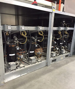 Hill Phoenix Refrigeration Rack and Condenser
