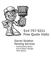 Painter Available - Int /Ext / West Island