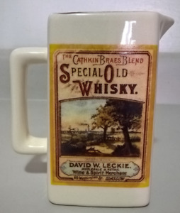 Vintage The Cathkin Braes Blend Special Old Whisky Pitcher