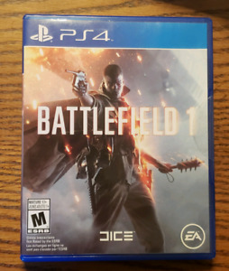 Almost Brand New Battlefield 1 For Ps4!