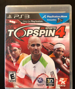 PS3 Classic: Top Spin 4