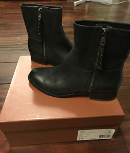 Brand New in Box Biker Coach Leather Boots