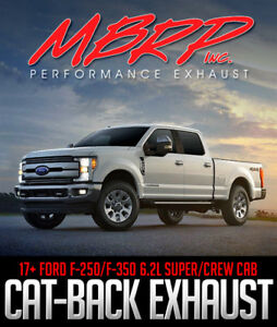MBRP Black Coated Catback Exhaust for 2017+ FORD F-250/F-350 6.2