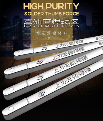 500g 99.3 Pure New Tin Solder Bar Stick Lead Free Sn99.3 Cu0.7 Tins Bars Ingot