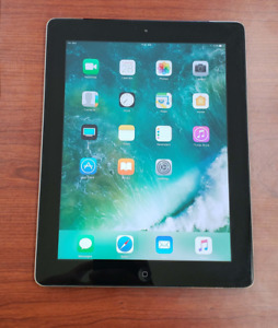 Apple iPad 4 16GB Space Grey Like New Wifi+Cellular $269.99