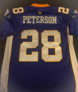 **MINNESOTA VIKINGS PETERSON (28) JERSEY FOR SALE-SIZE 52**
