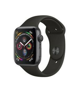 Apple Watch Series 4. Space Gray Aluminum Black Sports GPS+LTE