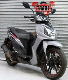 SOLD. SELL US YOUR BIKE! 67 SYM SYMPHONY SR 125 SCOOTER HPI CLEAR TRADE SALE