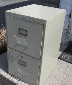 Metal 2 Drawer Filing Cabinet