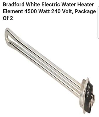 Bradford White Electric Water Heater Element 4500 Watt 240 Volt, Package Of 2