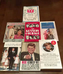 John F. Kennedy book collection