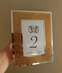 27 Frames/ Table Numbers - wedding, bridal, baby shower, event
