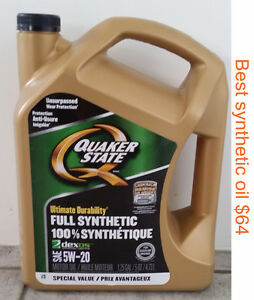$49 synthetic oil and filter change--We come to your location