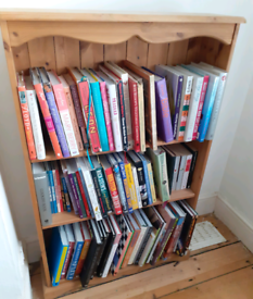 Cookery books and book case