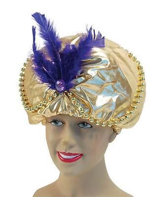 Arabisch Hut Perlen + Juwelen, Kostüm Verkleidung Zubehör