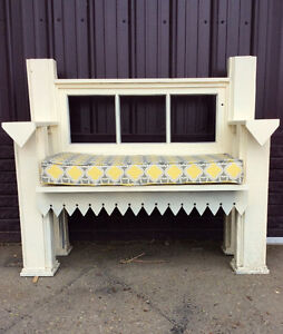 Cutesy Wooden Bench