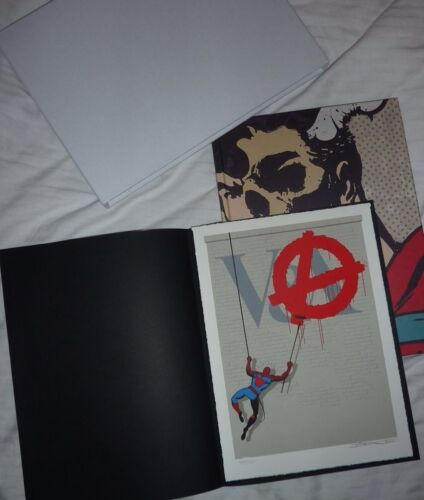 New Dface D Face V A Signed Art Print And Book - $695.00