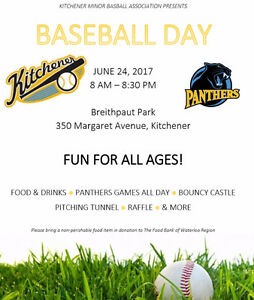 Volunteers wanted for June 24th Baseball day!