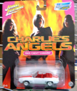 Diecast Charlie's Angels JL Hollywood on Wheels  69 Chevy Camaro