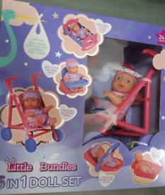 Baby Doll Bundle Set Brand New