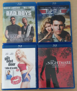 11 DVDs and 4 Blu-rays - $40 or $5 each - OBO