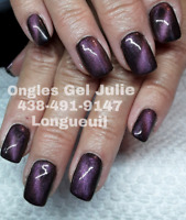 Pose d'ongles Gel Uv ou ACRYLGEL Longueuil