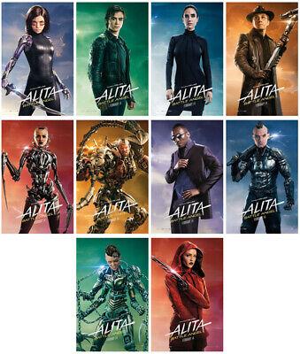 Alita: Battle Angel Movie 2019 Mirror Surface Card Sticker Promo Poster Sticker