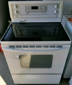 KENMORE FLAT-TOP ELECTRIC STOVE FOR SALE