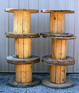 LOOKING FOR: Wooden spools