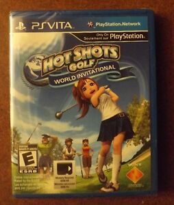 PS Vita Hot Shots Golf World Invitational