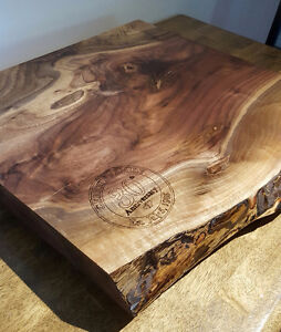 Hand Crafted Live Edge Cutting Boards London Ontario image 1