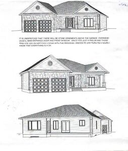 Complete set of house plans