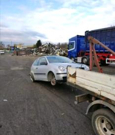 Scrap cars Van's 4x4 pickups wanted