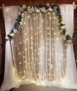 Ceremony Arbor - Wedding Arch – Backdrop for Rent
