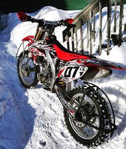 "Ice racing tire b64 21 and 19"""