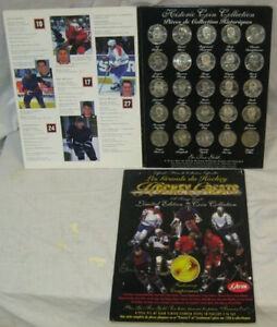 Offical Limited Edition Coin Collection Hockey Greats