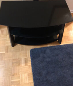 SOLID WOODEN,GLASS TV TOP