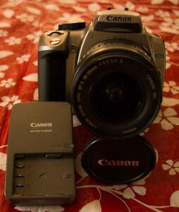 Canon XT, 2004 with 18-55mm lens