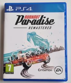 Burnout Paradise - Remastered PS4