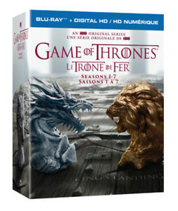 Game of Thrones Seasons 1-7 Blu Ray Box Set