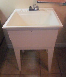used Utility Sink with faucet