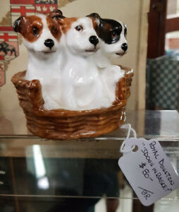 Vintage Dog Statues / Figurines (9 different ones)