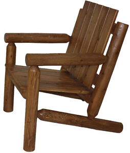 Cedar log woo Adirondack chair furniture