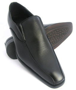 New Business Mens Dress Formal Oxfords Leatherette Shoes