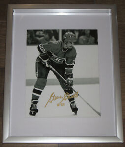 Signed Cheevers or Shutt 8x10 Framed